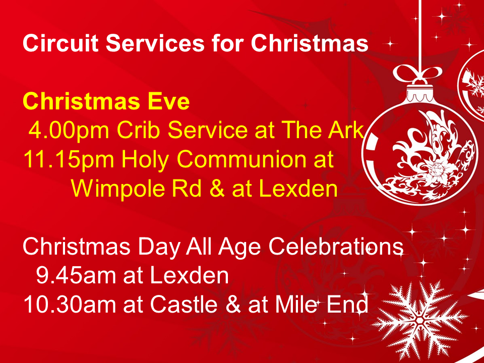 Circuit Christmas Services
