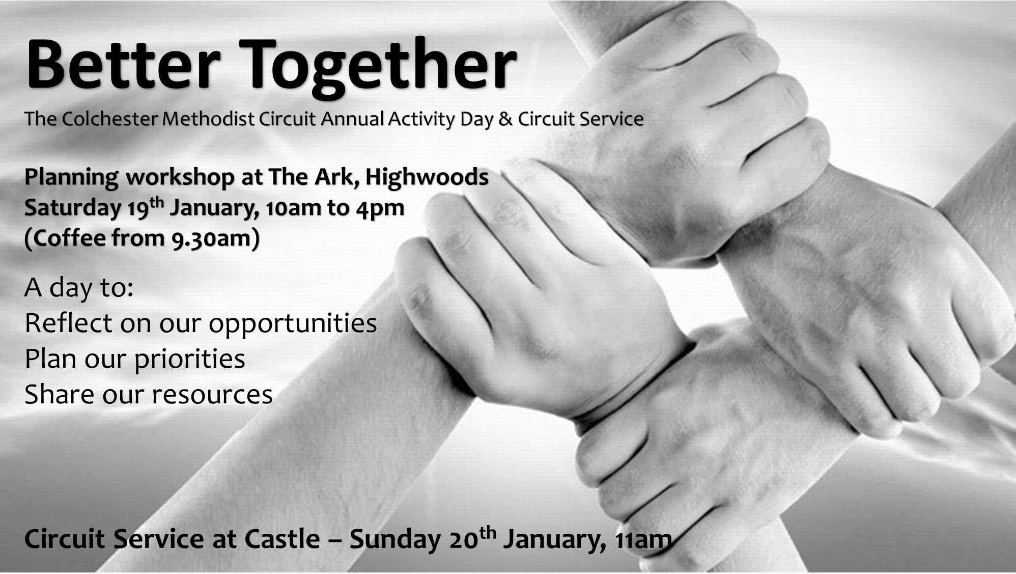 Better Together Circuit Day advert
